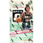 2020/21 Panini Donruss Optic Basketball H2 Hobby Hybrid Box