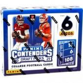 2021 Panini Contenders Draft Picks Football Hobby 12 Box Case