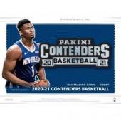 2020/21 Panini Contenders Basketball Hobby 12 Box Case