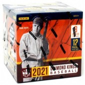 2021 Panini Donruss Diamond Kings Baseball Hobby 12 Box Case