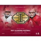 2021 Panini Illusions Football Hobby 16 Box Case