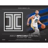 2020/21 Panini Impeccable Basketball Hobby 3 Box Case