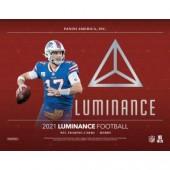 2021 Panini Luminance Football Hobby 12 Box Case