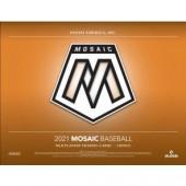 2021 Panini Mosaic Choice Baseball 20 Box Case