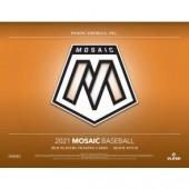 2021 Panini Mosaic Quick Pitch Baseball 20 Box Case