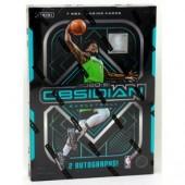 2020/21 Panini Obsidian Basketball Hobby 12 Box Case