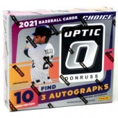 2021 Panini Donruss Optic Choice Baseball 20 Box Case