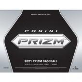 2021 Panini Prizm Baseball Hobby 12 Box Case