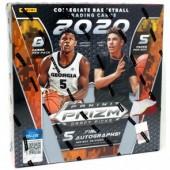 2020/21 Panini Prizm Collegiate Draft Picks Basketball Hobby 16 Box Case