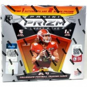 2021 Panini Prizm Collegiate Draft Picks Football H2 Box