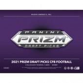 2021 Panini Prizm Collegiate Draft Picks Football Hobby Box