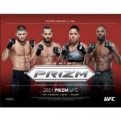 2021 Panini Prizm UFC Hobby Box