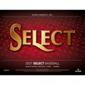 2021 Panini Select Baseball Hobby 12 Box Case
