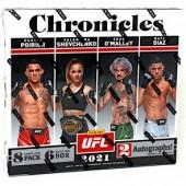 2021 Panini Chronicles UFC Hobby 12 Box Case