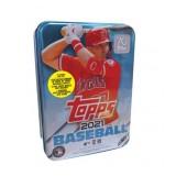 2021 Topps Series 1 Baseball Tin Box