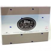 2021 Topps Sterling Baseball Hobby 8 Box Case