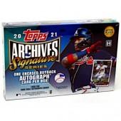 2021 Topps Archives Signature Series Baseball 20 Box Case