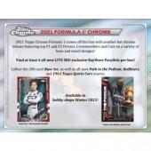 2021 Topps Chrome Formula 1 Racing Lite Box