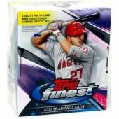 2021 Topps Finest Baseball Hobby 8 Box Case
