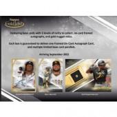2021 Topps Gold Label Baseball Hobby 16 Box Case