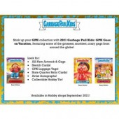 2021 Topps Garbage Pail Kids: GPK Goes On Vacation Hobby 8 Box Case