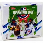 2021 Topps Opening Day Baseball Hobby 20 Box Case