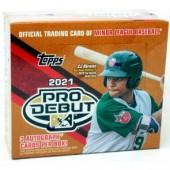 2021 Topps Pro Debut Baseball Jumbo 8 Box Case