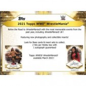 2021 Topps WWE Road To Wrestlemania Hobby 8 Box Case