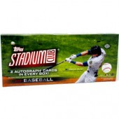 2021 Topps Stadium Club Baseball Hobby 16 Box Case