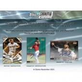 2021 Topps Stadium Club Chrome Baseball Hobby Box