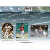 2021 Topps Stadium Club Chrome Baseball Hobby 16 Box Case