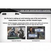 2021 Topps Star Wars Bounty Hunter Hobby Box