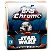 2021 Topps Star Wars Chrome Legacy Hobby 8 Box Case