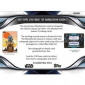 2021 Topps Star Wars The Mandalorian Season 2 Hobby 12 Box Case