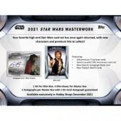 2021 Topps Star Wars Masterwork Hobby 8 Box Case