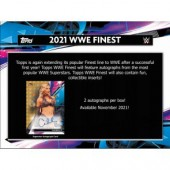 2021 Topps WWE Finest Wrestling Hobby 8 Box Case