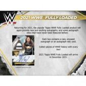2021 Topps WWE Fully Loaded Wrestling Hobby 20 Box Case