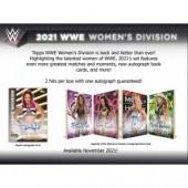 2021 Topps WWE Women's Division Hobby 8 Box Case