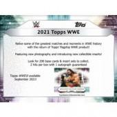 2021 Topps WWE Wrestling Hobby 8 Box Case