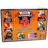 2021 Tristar Hidden Treasures Football Mini Helmet Series 2 - 10 Box Case
