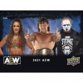 2021 Upper Deck All Elite Wrestling (AEW) Hobby 16 Box Case