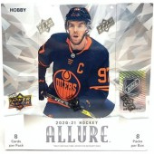 2020/21 Upper Deck Allure Hockey Hobby 10 Box Case