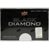 2020/21 Upper Deck Black Diamond Hockey Hobby Box