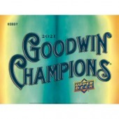 2021 Upper Deck Goodwin Champions Hobby 8 Box Case