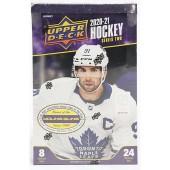 2020/21 Upper Deck Series 2 Hockey Hobby 12 Box Case