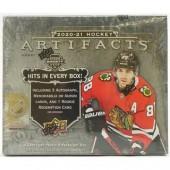 2020/21 Upper Deck Artifacts Hockey Hobby 20 Box Case