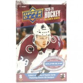 2020/21 Upper Deck Extended Series Hockey Hobby 12 Box Case