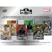 2021 Upper Deck Marvel X-Men Metal Universe 12 Box Case