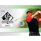 2021 Upper Deck SP Authentic Golf Hobby 8 Box Case
