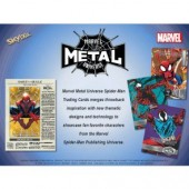 Marvel Spider-Man Metal Universe Box (Upper Deck)